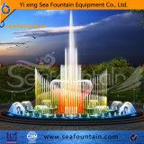 Seafountain 3 слоя форму цветка Gushing Музыка Танцующий фонтан