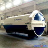 Vulcanizador de borracha de aquecimento elétrico certificado ASME de 1500X3000mm (SN-LHGR15)