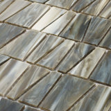 L'italiano progetta il mosaico di vetro macchiato delle mattonelle di Backsplash per la stanza da bagno della cucina
