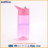 Garrafa de água plástica cor-de-rosa bebendo personalizada do corpo de Irrgular do preço forma quente barata