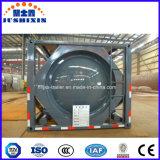 Recipiente do Depósito de Líquidos químicos corrosivos transporte petroleiro 20cbm contentor-cisterna