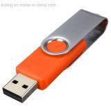 De Aandrijving van de Flits van de wartel USB met Aangepast Embleem