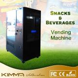 Pantalla LCD de 23 pulgadas máquina expendedora de snacks