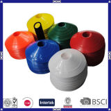 De Kleurrijke Kegels van uitstekende kwaliteit van de Schijf van de Opleiding van het Voetbal voor Praktijk