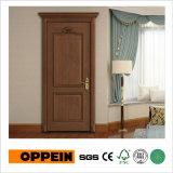Puerta interior del oscilación de madera clásico de la chapa de Oppein (YDE003D)