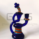 8 pollici - la LIMANDA alta attrezza il tubo di fumo di vetro con la tabella Perc