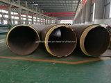 Tubo de acero de carbono negro y el tubo