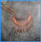 Máquina de tratamento térmico de indução de endurecimento de engrenagem do eixo