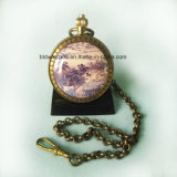 Photo Inlay Antique Pocket Watches for Sale