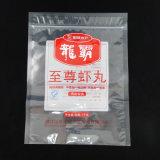 Мешок продуктов моря уплотнения полиэтиленового пакета 3 бортовым замерли мешком, котор упаковывая