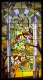 Venster van de Kunst van het Mozaïek van het Glas van de Kerk van de Levering van Facotry het Dubbele