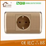Aprovado pela CE tomada comutada 13 AMP Elétrica