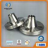 ASME B16,5 UM182 F304 flange do bocal de solda em aço inoxidável flange forjados (KT0209)