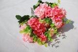 Gefälschter Hydrangea-Silk künstliche Blumen für Hauptdekoration-Zubehör