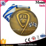 아연 합금은 금속 기술 생산 앙티크 고급장교 메달을 주문 설계한다