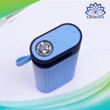 De Draadloze MiniSpreker Bluetooth van het flitslicht met de Functie van de Bank van de Macht