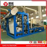 China Industrial Cinturón Filtro Prensa Para Lodos Deshidratación