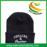 カスタム冬の暖かいアクリルの帽子の帽子