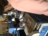 Mobiliario de casa de la puerta de madera MDF Router CNC máquina