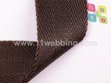 Webbing серого двойника кофеего шевронный Nylon для плечевых ремней мешка