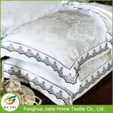 Custom Home Textile Hotel White Embroidery Bedding Set