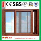 Fenêtre coulissante à prix bon marché avec Flyscreen