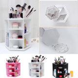 360 Geval 4 van het Rek van de Opslag van de Doos van de Organisator van de Make-up van de Rotatie van de graad Kosmetisch Kleuren