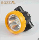 2ah Li 이온 세륨 증명서 1W LED 무선 광부 채광 램프 Bk2000