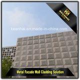 レーザーの切口は装飾的な屋外のシート・メタルのアルミニウムカーテン・ウォールにパネルをはめる