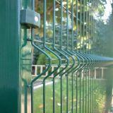 Recinto di filo metallico saldato curva della Cina 3D per esportare
