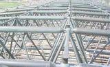 Ферменная конструкция стальной структуры цвета золота