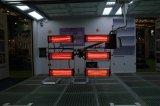 Lâmpada de cura infravermelha do assoalho móvel para a cabine da pintura da cabine de pulverizador