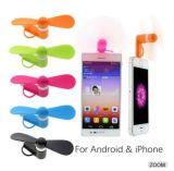 선물 Samsung를 위한 iPhone를 위한 선전용 2in1 소형 USB 팬