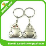 Paare rundes Keychain Metallpreiswerte Geliebte in der guten Qualität