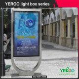 Коробка торгового центра улицы Advertisng алюминиевая светлая