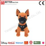 Perro militar del juguete suave del animal relleno de la felpa del regalo de la promoción para los cabritos