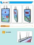 el panel doble Digital Dislay del LCD de las pantallas 43-Inch que hace publicidad del jugador, visualización del LCD de la señalización de Digitaces
