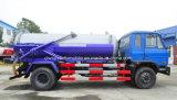 Dongfeng 4X2 10000 L Absaugung-Abwasser-LKW 10 Tonnen Vakuum-LKW-