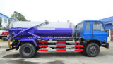 Dongfeng 4X2 10000 L吸引の下水のトラックトラック10トンの真空の