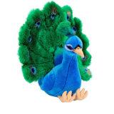 Custom farcies Peacock un jouet en peluche