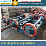 Máquina de pólo de concreto para postes de concreto pré-esforçado Comprimento 9-15m