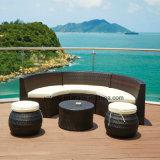 Sala de estar ao ar livre moderna do Rattan da mobília da qualidade superior com preço razoável
