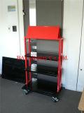 3 Reihe-Hochleistungsmetall-/Eisen-Ausstellungsstand