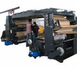 Prensa tricolor de la bolsa de papel de la impresora de 3 Flexography