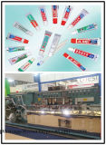 Aluminium-Plastik lamellierte Zahnpasta-Gefäß verpackenmaschine-c$sunway
