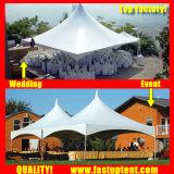 メーカー屋外のイベントの直径6mのためのアルミニウムフレームの小尖塔のテント20人のSeaterのゲスト