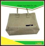 Saco de compra relativo à promoção do saco de Tote da juta