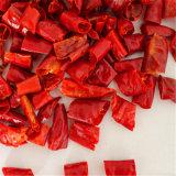 Grado schiacciato dei peperoncini rossi