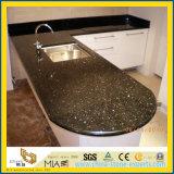 Оптовая торговля черного цвета из природного камня Galaxy ламината гранитными столешницами для кухни и ванной комнаты