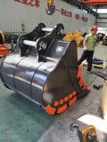 掘削機鉱山1.6cbmの掘るバケツ中国製